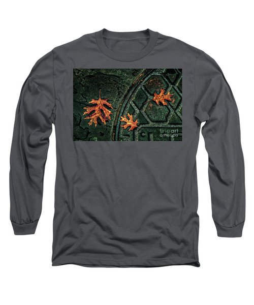The Three Leaves Long Sleeve T-Shirt