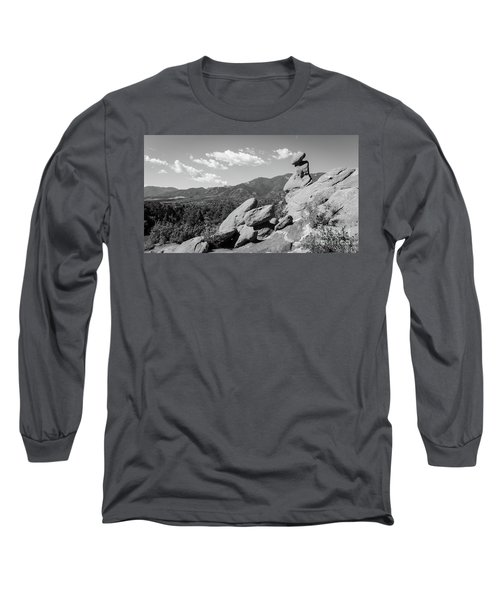 The Valley Below Long Sleeve T-Shirt by Deborah Klubertanz