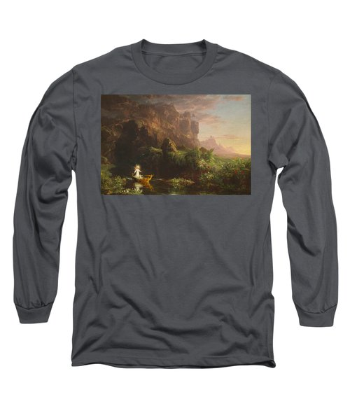 The Voyage Of Life, Childhood Long Sleeve T-Shirt