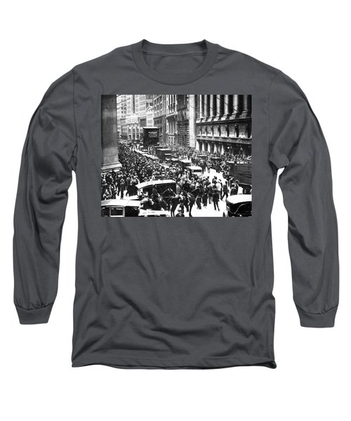 The Wall Street Crash 1929 Long Sleeve T-Shirt