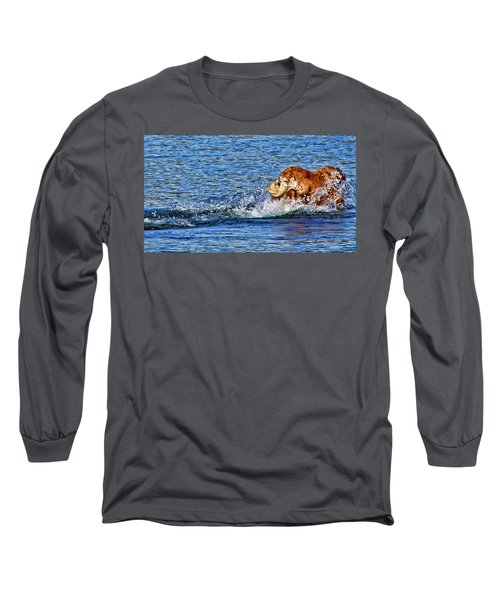 Long Sleeve T-Shirt featuring the photograph There She Goes by Rhonda McDougall