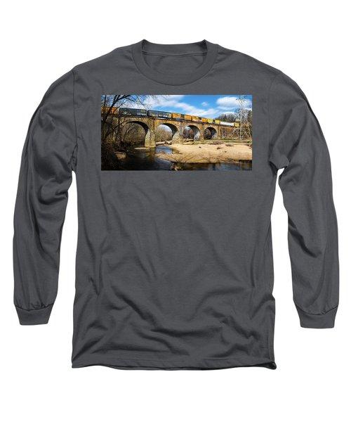 Thomas Viaduct Panoramic Long Sleeve T-Shirt