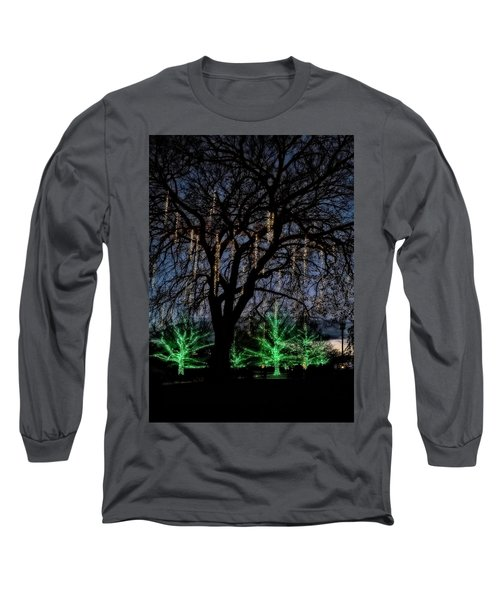 Long Sleeve T-Shirt featuring the photograph 'tis The Season by Eduard Moldoveanu