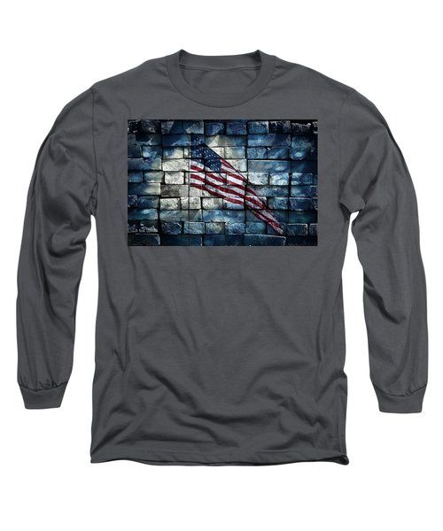 Long Sleeve T-Shirt featuring the photograph Together We Stand by Aaron Berg