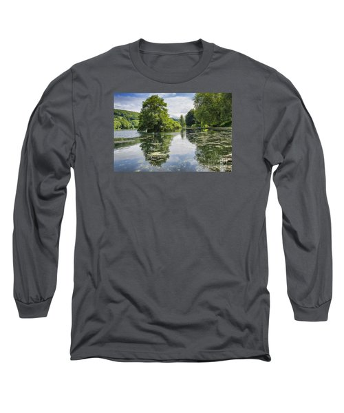 Tranquility Long Sleeve T-Shirt by David  Hollingworth