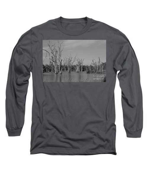 Tree Cemetery Long Sleeve T-Shirt by Douglas Barnard