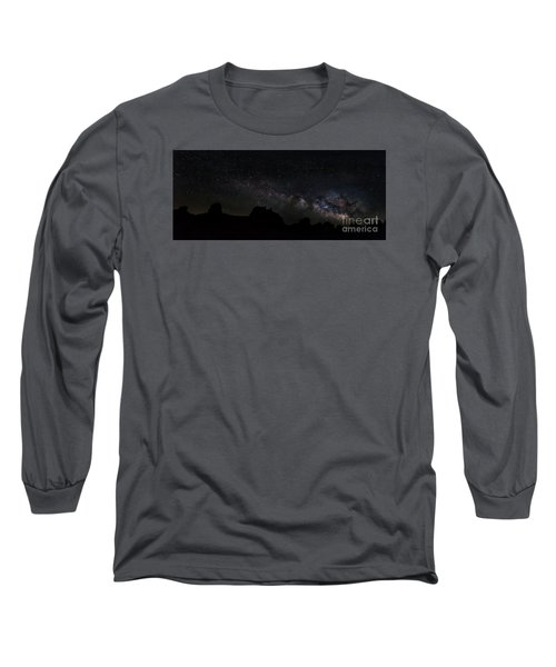 Trona Pinnacles Milky Way Long Sleeve T-Shirt