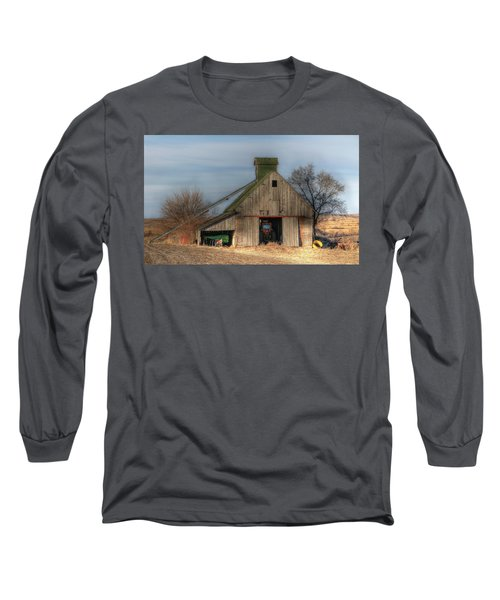 Tucked  Away In Rural Iowa Long Sleeve T-Shirt