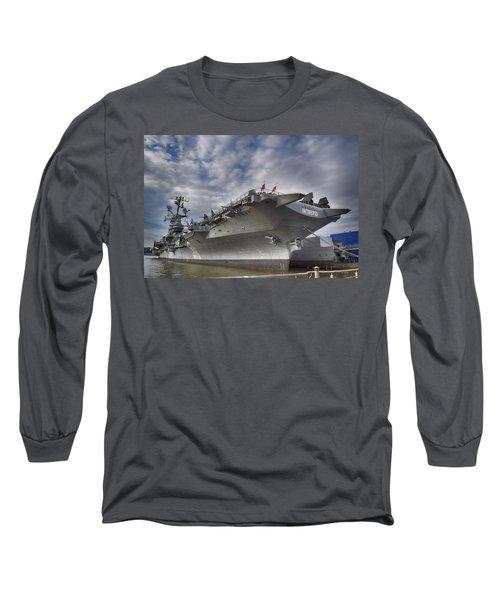 The U S S Intrepid  Long Sleeve T-Shirt