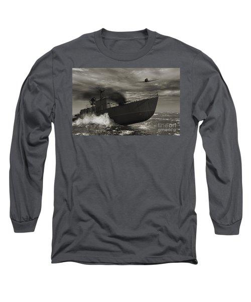 Under Attack  Long Sleeve T-Shirt
