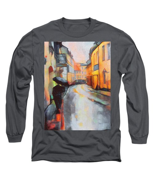 Under The Rain Long Sleeve T-Shirt