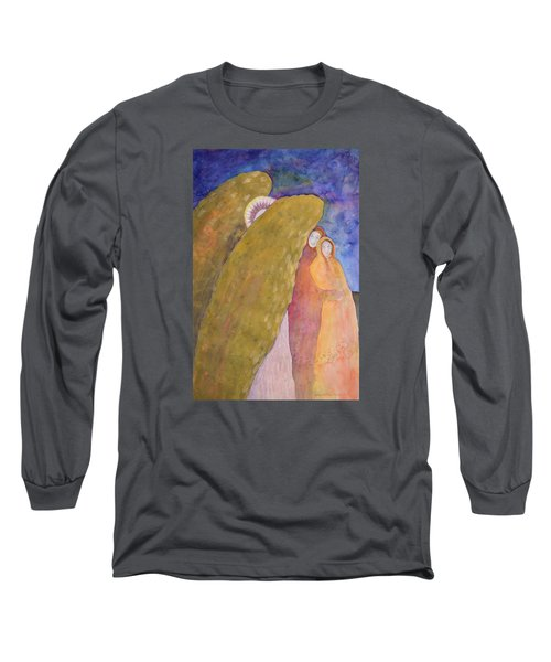 Under The Wing Of An Angel Long Sleeve T-Shirt