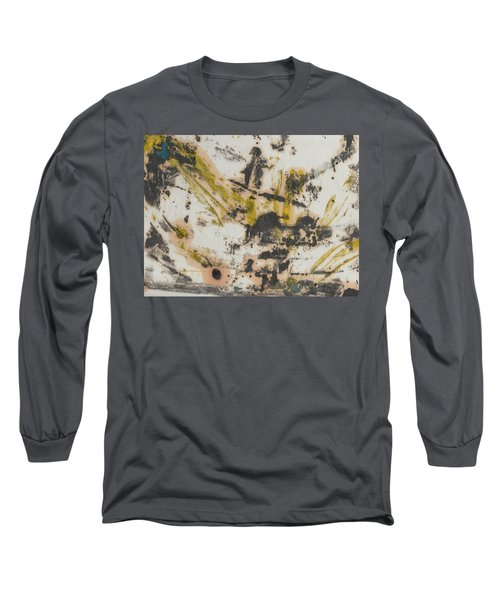 Long Sleeve T-Shirt featuring the painting Untitled  by Patrick Morgan