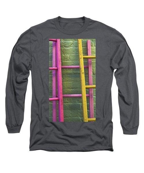 Upwardly Mobile Long Sleeve T-Shirt