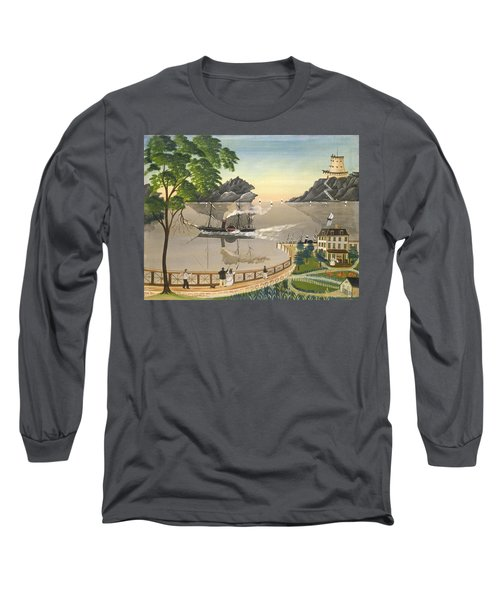 U S Mail Boat Long Sleeve T-Shirt