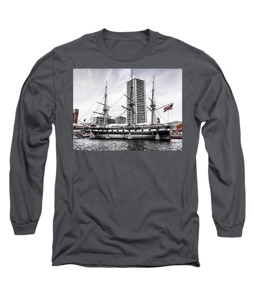 U.s.s. Constellation Long Sleeve T-Shirt