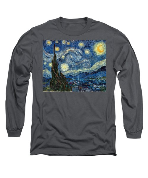 Van Gogh Starry Night Long Sleeve T-Shirt