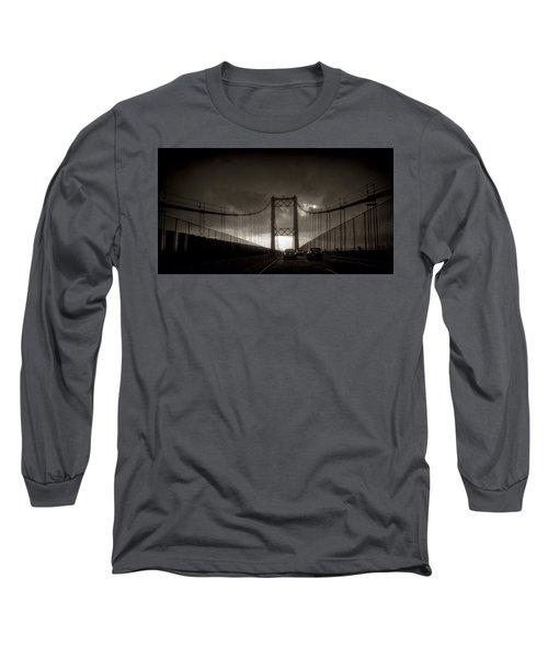 Vincent Thomas Bridge Long Sleeve T-Shirt by Joseph Hollingsworth