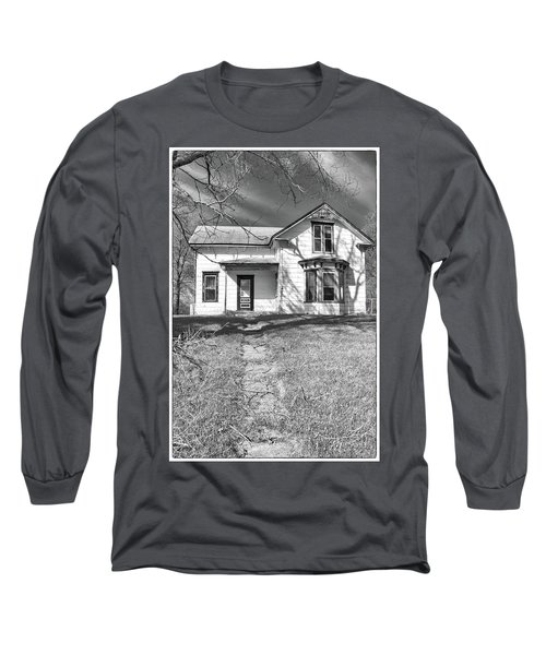 Visiting The Old Homestead Long Sleeve T-Shirt by Guy Whiteley