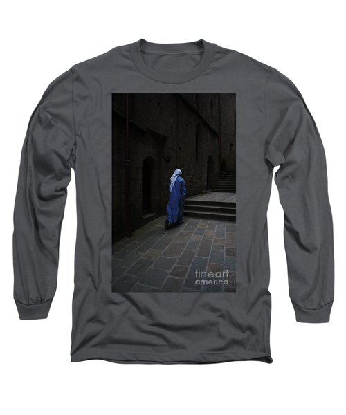 Walk Of Faith Long Sleeve T-Shirt by Therese Alcorn