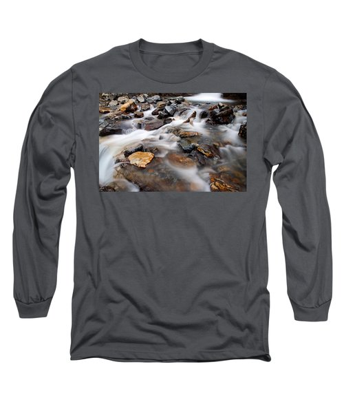 Water On The Rocks Long Sleeve T-Shirt