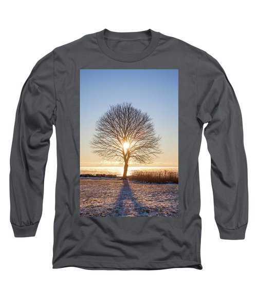Long Sleeve T-Shirt featuring the photograph Whaleback Sunrise by Robert Clifford