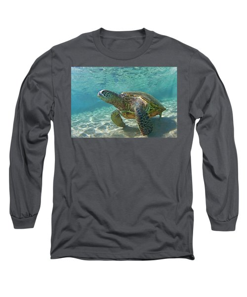 What Are You Lookin At Long Sleeve T-Shirt by James Roemmling