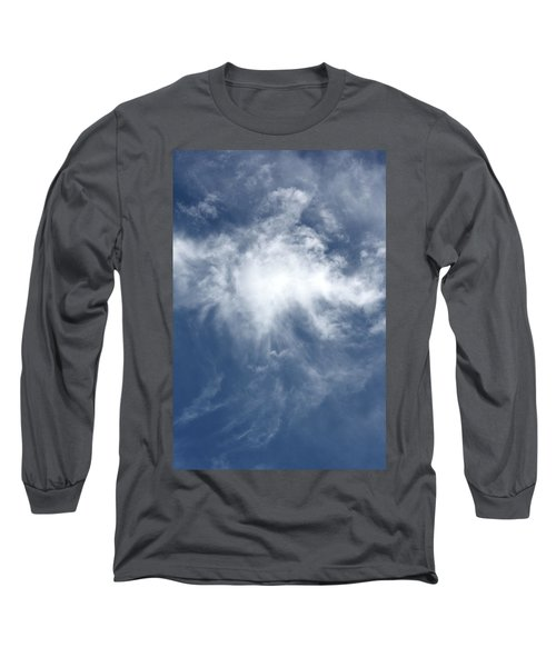 Wing And A Prayer Long Sleeve T-Shirt by Cathie Douglas