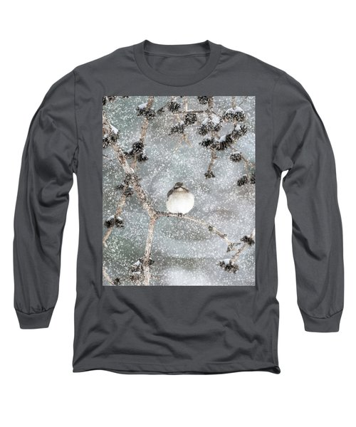 Winter Mockingbird Long Sleeve T-Shirt