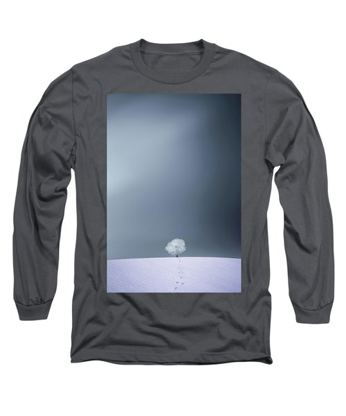 Long Sleeve T-Shirt featuring the photograph Winter Tree by Bess Hamiti