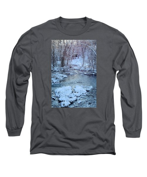 Winter Wonderland Long Sleeve T-Shirt by Dacia Doroff