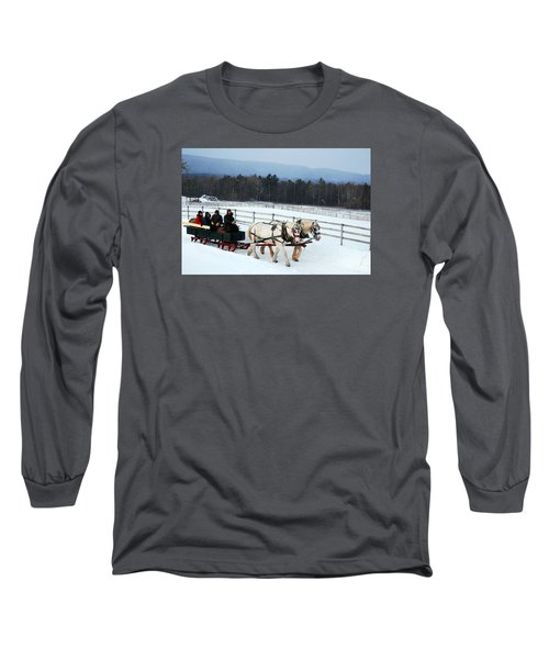 Winter Wonderland Long Sleeve T-Shirt by James Kirkikis