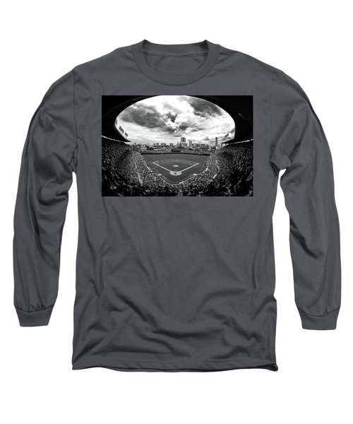 Wrigley Field Long Sleeve T-Shirt
