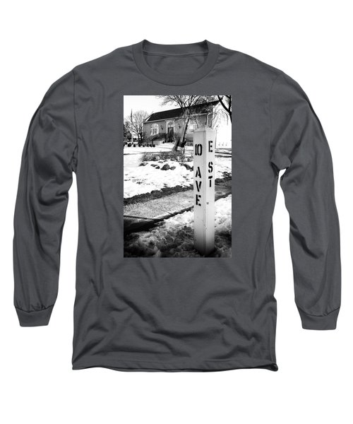 10 Ave And E St Belmar New Jersey Long Sleeve T-Shirt