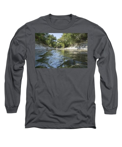 10 Mile Creek Long Sleeve T-Shirt by Ricky Dean