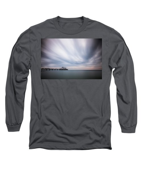 10 Minute Exposure Of Eastbourne Pier Long Sleeve T-Shirt