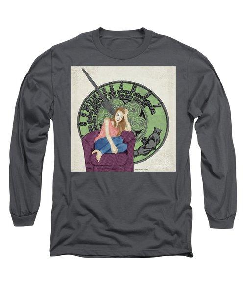 10 Months Long Sleeve T-Shirt by Megan Dirsa-DuBois
