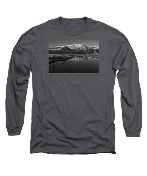 Trossachs Scenery In Scotland Long Sleeve T-Shirt