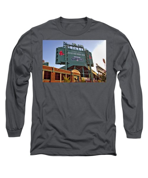 100 Years At Fenway Long Sleeve T-Shirt