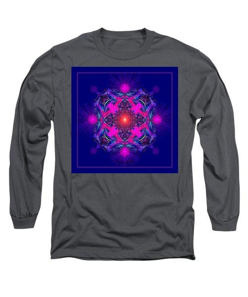 1028 -  A Mandala Purple And Pink 2017 Long Sleeve T-Shirt