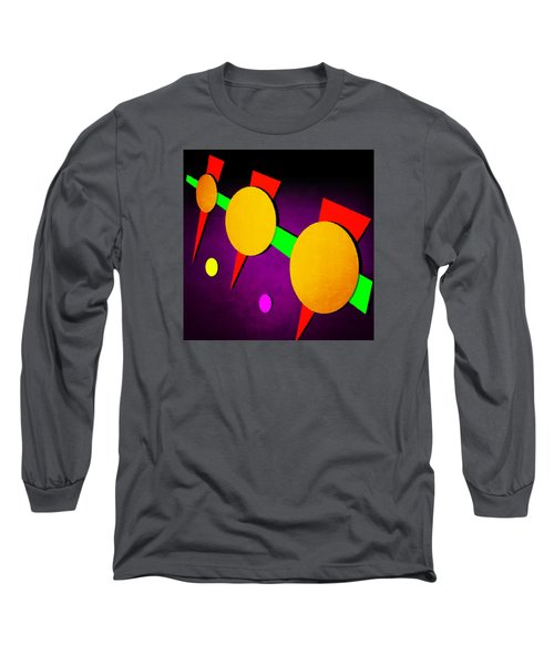 Long Sleeve T-Shirt featuring the digital art 104 by Timothy Bulone