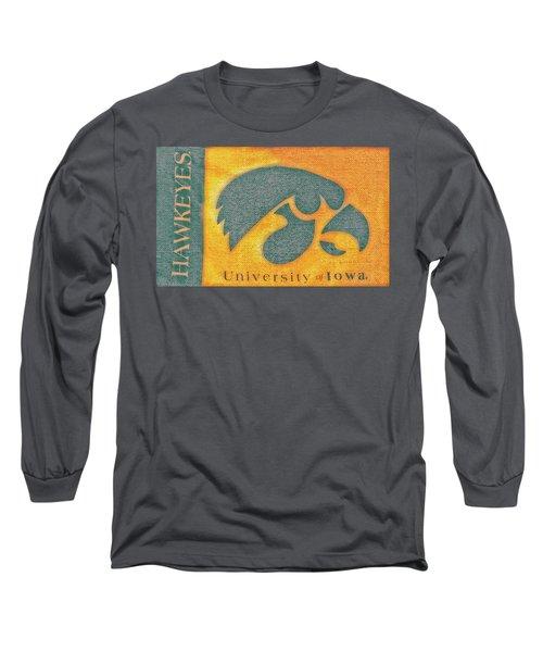 10720  Iowa Hawkeye Long Sleeve T-Shirt