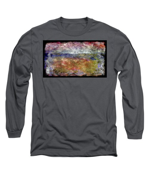 10c Abstract Expressionism Digital Painting Long Sleeve T-Shirt