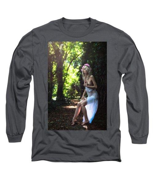 Apsarasa Long Sleeve T-Shirt by Traven Milovich