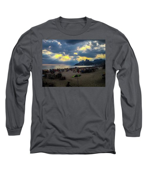 Ipanema Beach Long Sleeve T-Shirt
