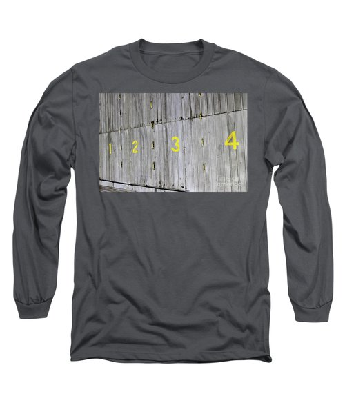 Long Sleeve T-Shirt featuring the photograph 1234 by Stephen Mitchell