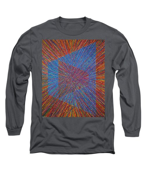 Long Sleeve T-Shirt featuring the painting Mobius Band by Kyung Hee Hogg