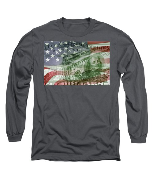 Usa Finance Long Sleeve T-Shirt