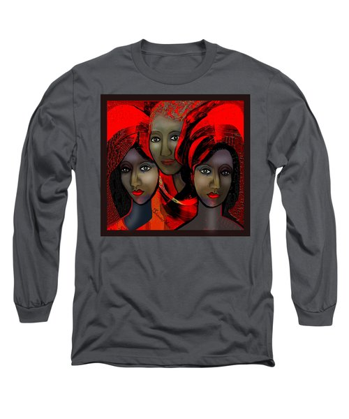 1387 - Harem Fantasy - 2017 Long Sleeve T-Shirt by Irmgard Schoendorf Welch