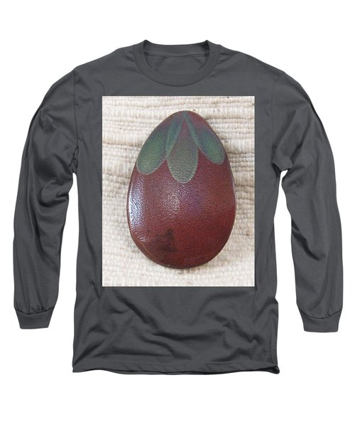 1390 Eggplant Long Sleeve T-Shirt by Dianne Brooks